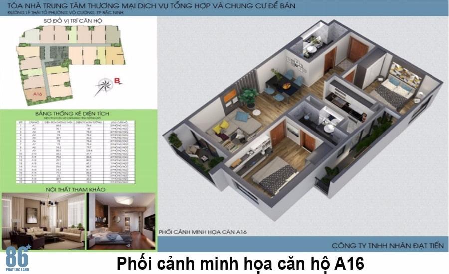 Thiết kế căn hộ Green Pearl Bắc Ninh4