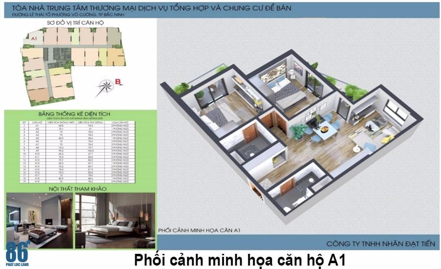 Thiết kế căn hộ Green Pearl Bắc Ninh5