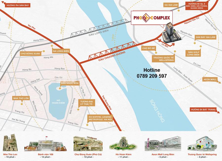 Vị trí dự án PHC Complex