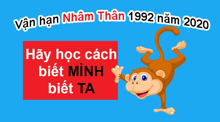 Vận Hạn Nhâm Thân 1992