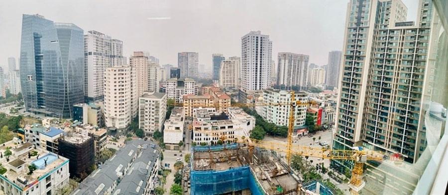 Tiến độ thi công DLC Complex Nguyễn Tuân 2