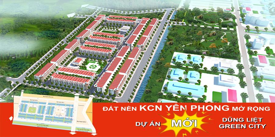 Dự án Dũng liệt Green City Yên Phong Bắc ninh